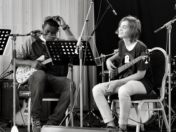 Clement Dicksson och Lukas Axelsson