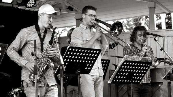 Fredrik Ejnarsson, Joakim Larsén och Oskar Widmark