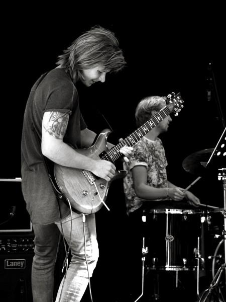 Axel Andersson och Tobias Marmén