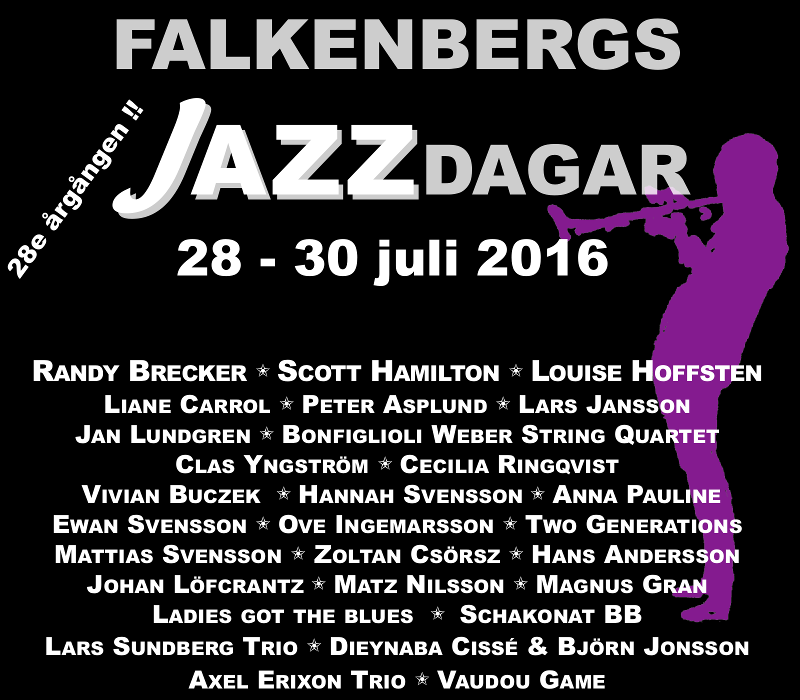 Falkenbergs jazzdagar 2016
