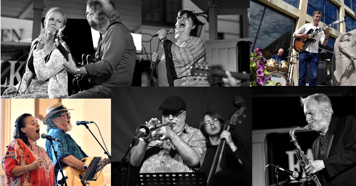 Bilder från Falkenbergs jazzdagar 2016