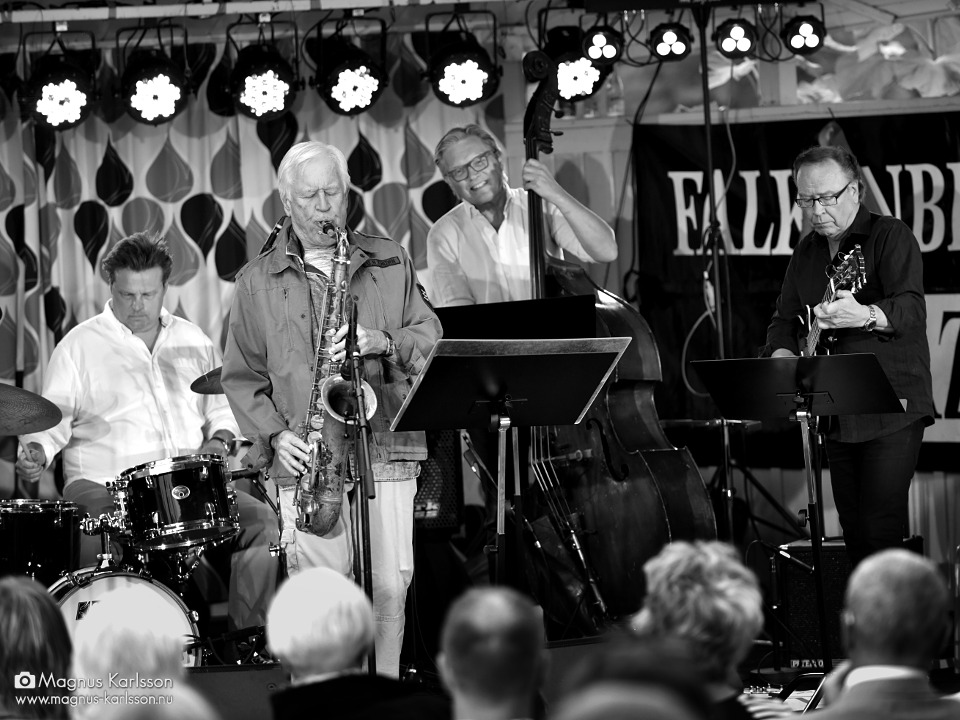 Ulf Andersson & Lars Jansson med Ewan Svensson festivaltrio