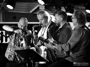 Anders Bergcrantz, Tomas Franck, Klas Lindquist och Ewan Svensson