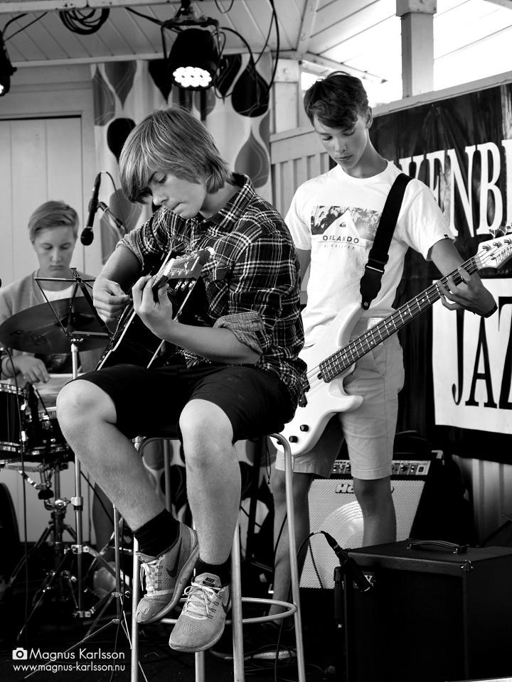 Kulturskolans jazzensemble