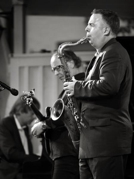 Jan Lundgren, Ewan Svensson och Harry Allen