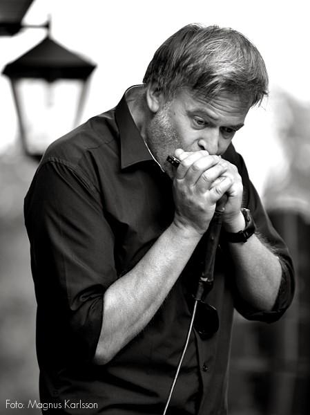 Schakonats bluesband - Magnus Rydell