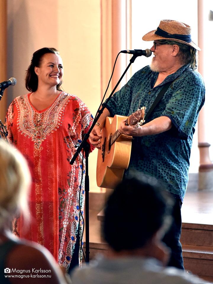 Clas Yngström och Cecilia Ringqvist