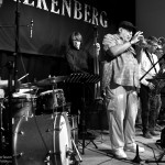 Randy Brecker med Ove Ingemarsson, Ewan Svensson, Mattias Svensson, Zoltan Csörsz