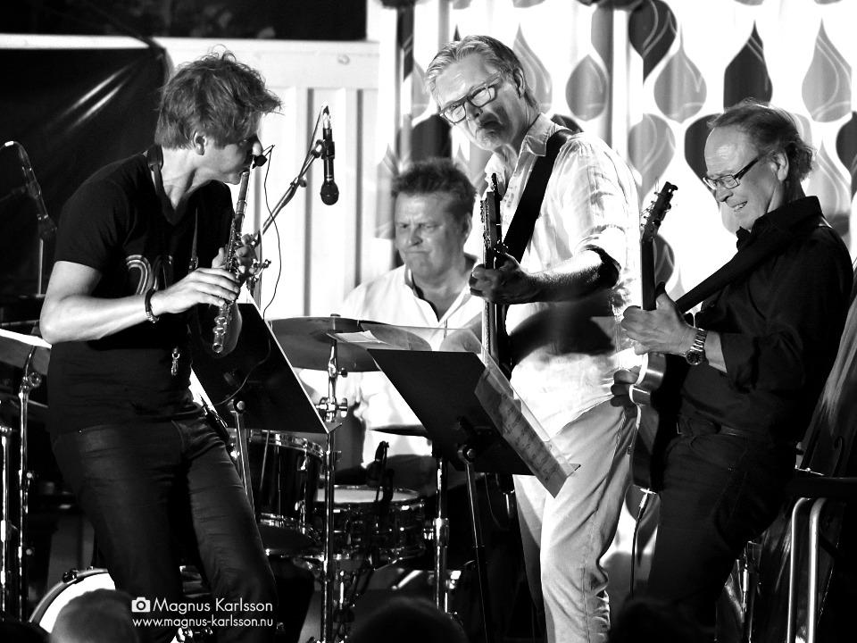 Magnus Lindgren, Magnus Gran, Matz Nilsson och Ewan Svensson