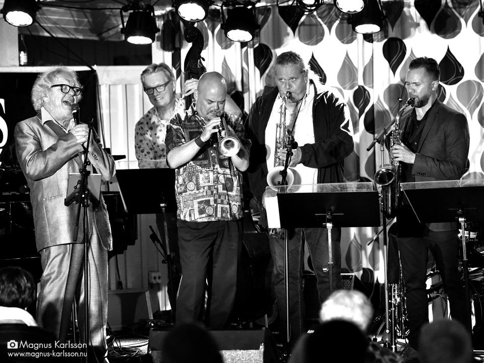 Claes Jansson, Matz Nilsson, Anders Bergcrantz, Tomas Franck och Klas Lindquist